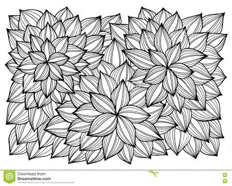 disegni astratti fiori cartolina d auguri con i fiori astratti pagina per il