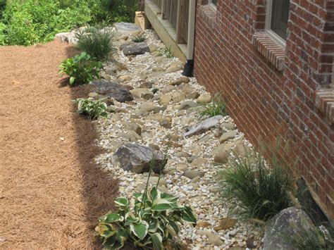 Landscaping Ideas To Keep Water Away From House Creek Beds Landscape For Drainage Memes