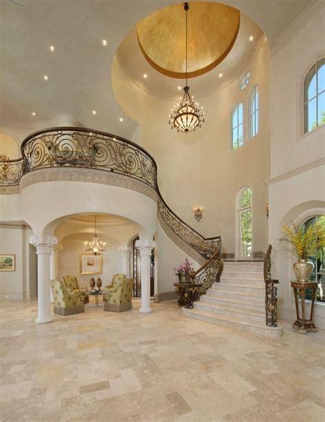 house interior column designs stairs pinned by www modlar column entrance foyer with balcony million dollar home
