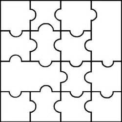 blank puzzle template printable puzzle pieces template dakotaflower home