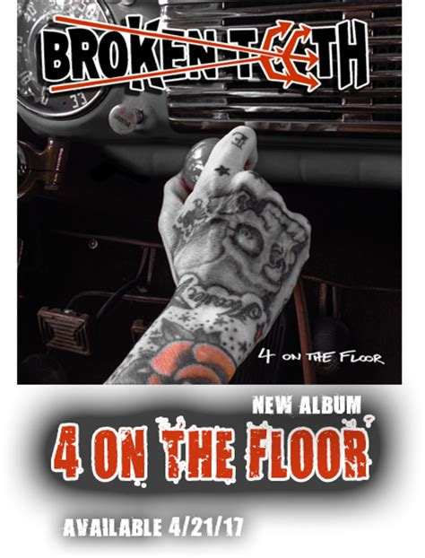 4 On The Floor by 4 On The Floor Broken Teeth Rock Band