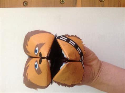 Origami Wookiee - fortune wookiee origami yoda