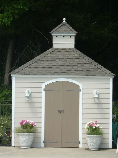 cute shed ideas images  pinterest garden