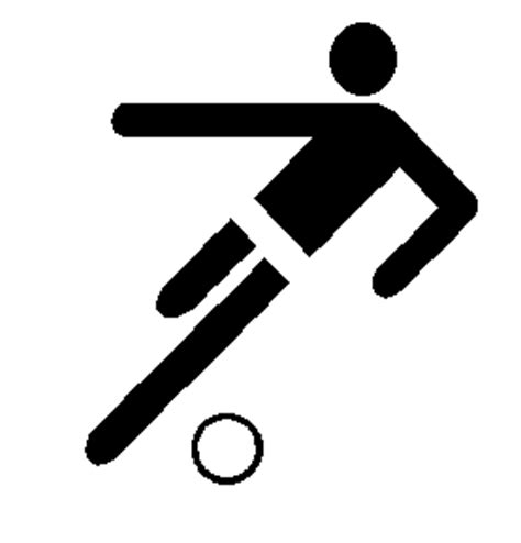 piktogramm fussball : fussball fan block > talkrunde für