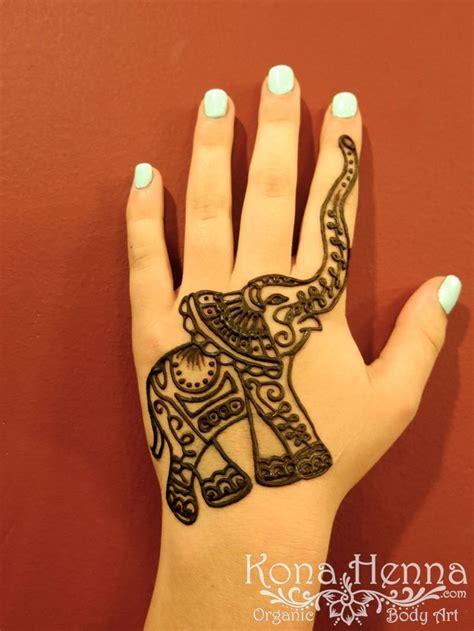 kona henna studio elephant henna designs henna
