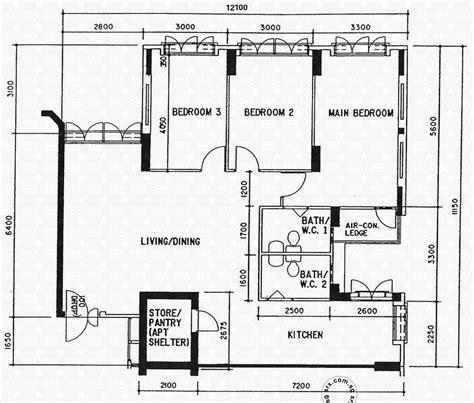 hdb floor plan floor plans for sembawang drive hdb details srx property