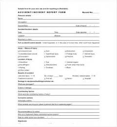 Incident Summary Report Template by 18 Incident Report Templates Free Sle Exle