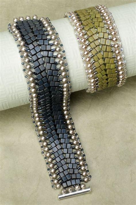 herringbone bead stitch 3071 best bijoux perles images on pearl