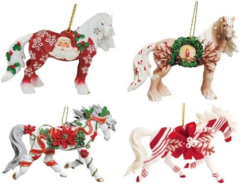 horse of a different color christmas 2012 ornaments