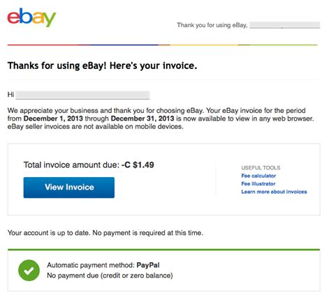 why does my keep me how do i invoice someone on ebay solved why does ebay keep emailing me an invoice