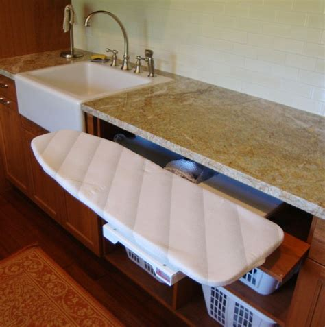 Pullout Ironing Board Laundry Pinterest Tables Laundry With Ironing Board