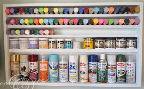 Shelf Paint by Paint Storage Shelf Ryobi Giveaway Create And Babble