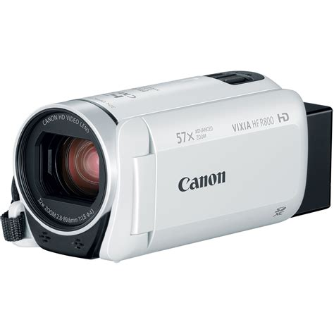 Jual Canon Vixia Hf R800 by Canon Vixia Hf R800 Camcorder White 1960c003 B H Photo