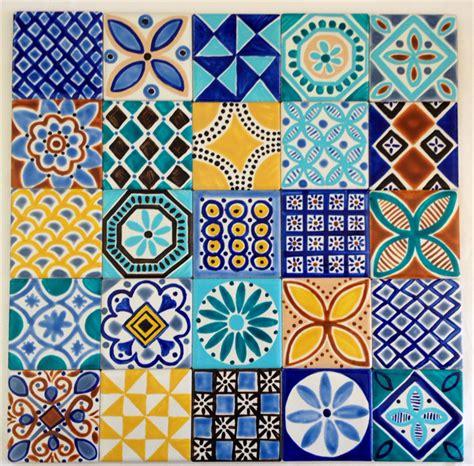 pattern tiles australia moroccan inspired hand painted ceramic tiles for