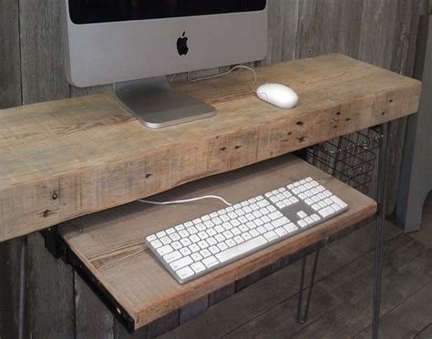 wooden desks for reclaimed wood home office desks recycled things