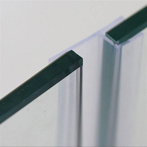 Shower Seals For Glass Doors Aliexpress Buy 6 8 10 12mm Glass Seals Frameless Shower Door Window Balcony Screen Sealing