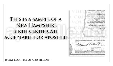 Marriage Records Nh State Of New Hshire Apostille Apostille Service