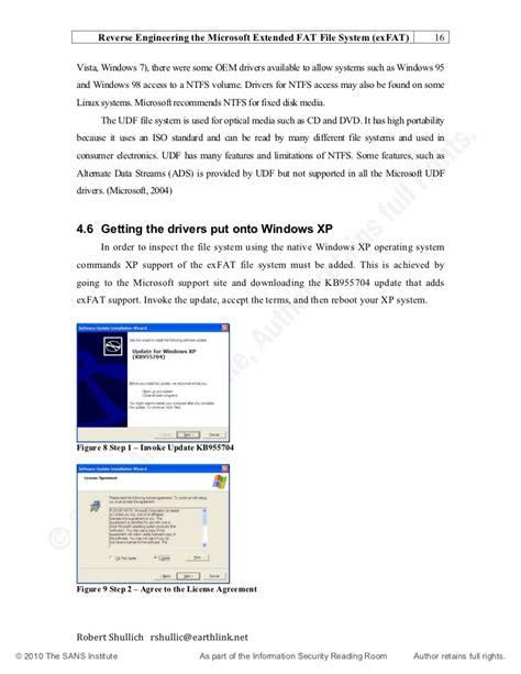 exfat format microsoft reverse engineering microsoft exfat file system 33274
