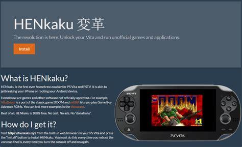Ps Vita Slim Cfw Henkaku Memory 64gb Fullgame Garansi Playstation Vita Has Been Hacked Here S How To Do It