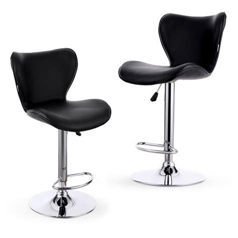 heavy duty chair swivel 2x heavy duty backrest chairs stools pu leather swivel bar