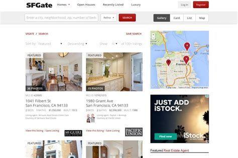 New Search Site Introducing Sfgate S New Real Estate Search Site On The Block