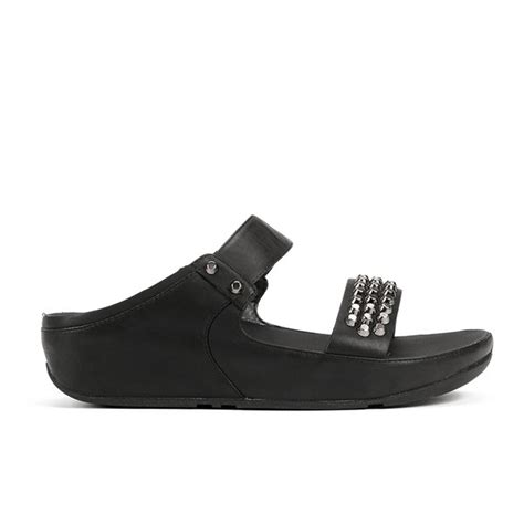 Fitflop Amsterdam fitflop s amsterdam studded leather slide sandals