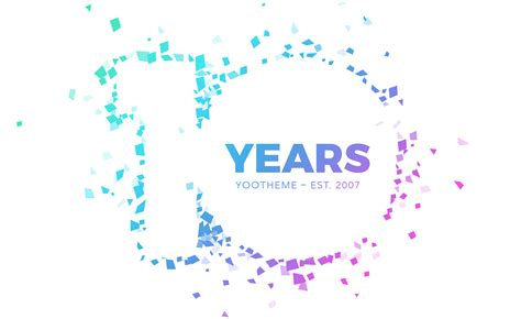 how is 10 in years yootheme turns 10 yootheme
