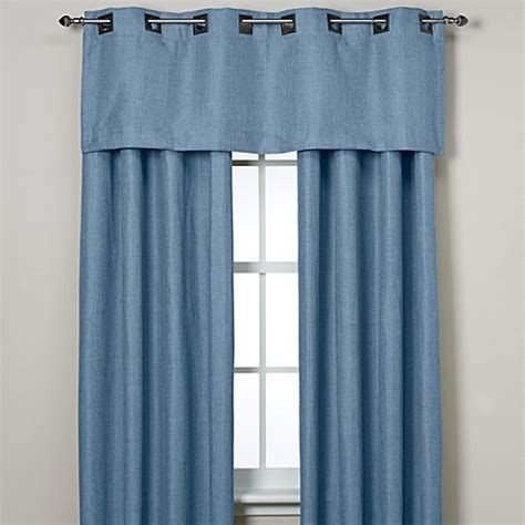 Teal Grommet Curtains Buy Reina 95 Inch Grommet Top Window Curtain Panel In Teal From Bed Bath Beyond