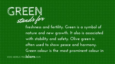green color meaning flag colors the meaning of color in flags