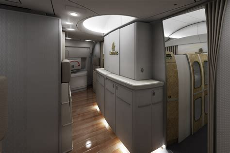 Emirates Airlines Inside Cabin View by 3d Illustration By Michael Jaquish At Coroflot