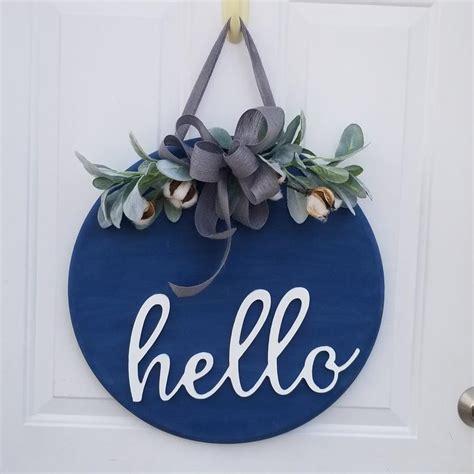 sign  front door   sign