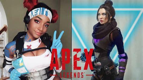 apex legends cosplays lifeline wraith