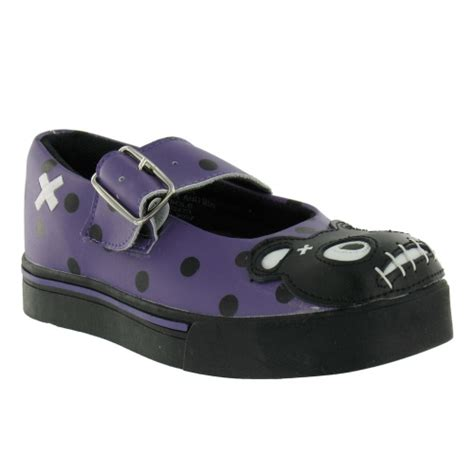 teddy shoes tuk t u k teddy shoes purple black flat shoes from