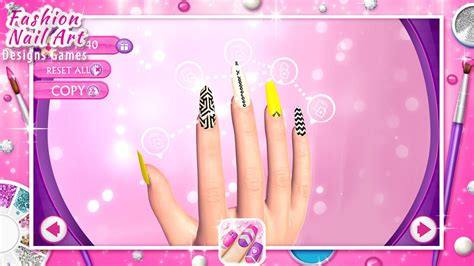 fashion nail art designs game android apps  google play