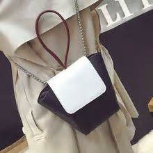 Faux Leather Color Block Pouch women s pouches yesstyle
