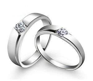 Simple Silver Engagement Rings by Sz4 11 S925 Silver Ring Simple Cz Engagement Ring