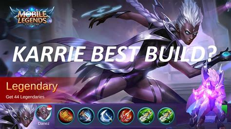 mobile legend build mobile legends karrie best build