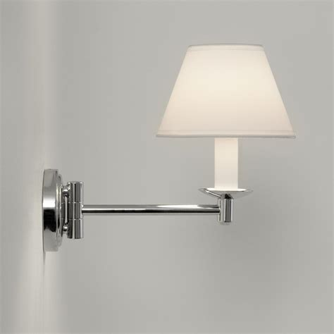 swing arm wall lights uk astro lighting grosvenor 0511 swing arm bathroom wall light