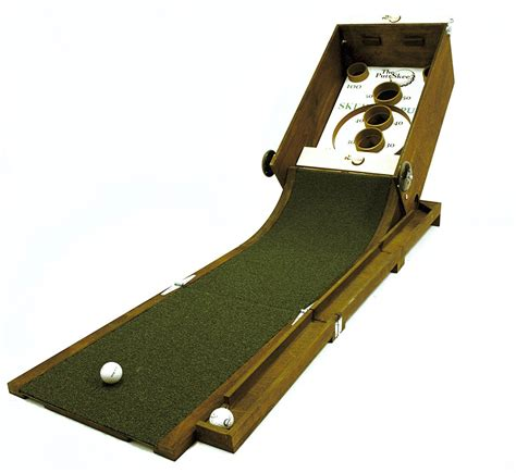 skee ball puttskee putting and skeeball all in one the green head