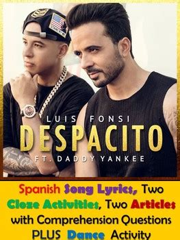 five lessons i ve learned from daddy yankee hairstyle despacito song lyrics activities in spanish luis fonsi