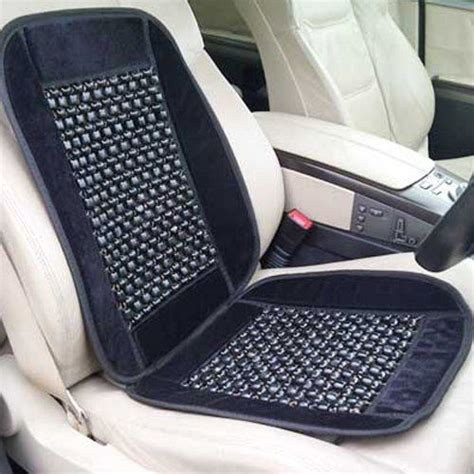 wooden beaded car vehicle seat travel back support