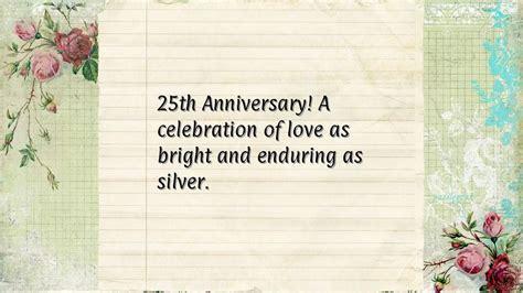 25th Wedding Anniversary Quotes. QuotesGram