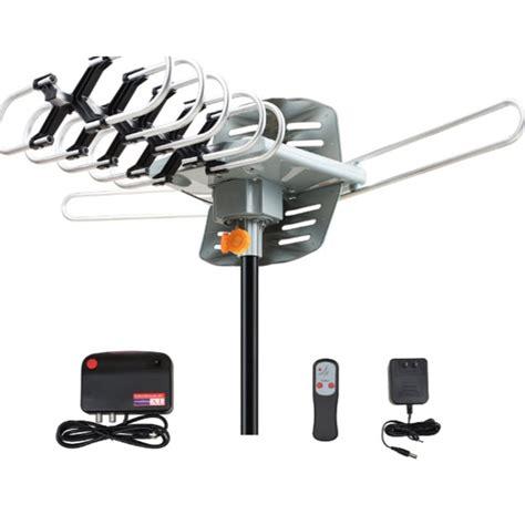 150 tv antenna lified range outdoor hd digital 1080p 36db uhf vhf ebay