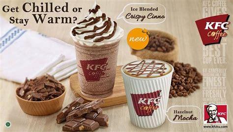 Hazelnut Coffee Kfc kfc coffee promo menu baru blended crispy cinno dan