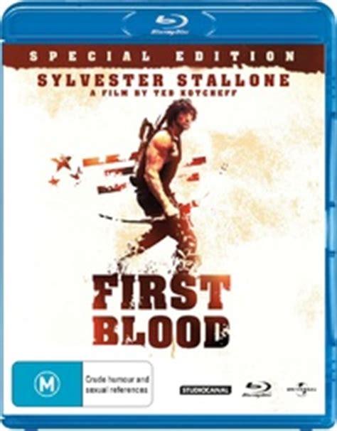 film blue rambo first blood blu ray rambo special edition australia