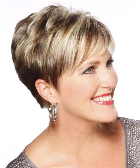 formal dos for over 50 short straight formal hairstyle light brunette side