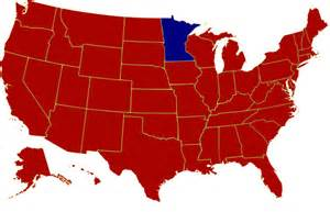 1984 Election Map by Google Images