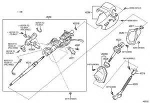 Toyota Steering Column Toyota Fj Cruiser Steering Column Shaft