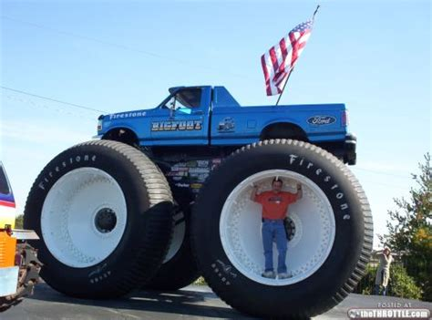 first bigfoot monster truck bigfoot truck 7 thethrottle