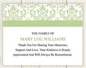 17 best ideas about funeral thank you cards on sympathy thank you notes sympathy